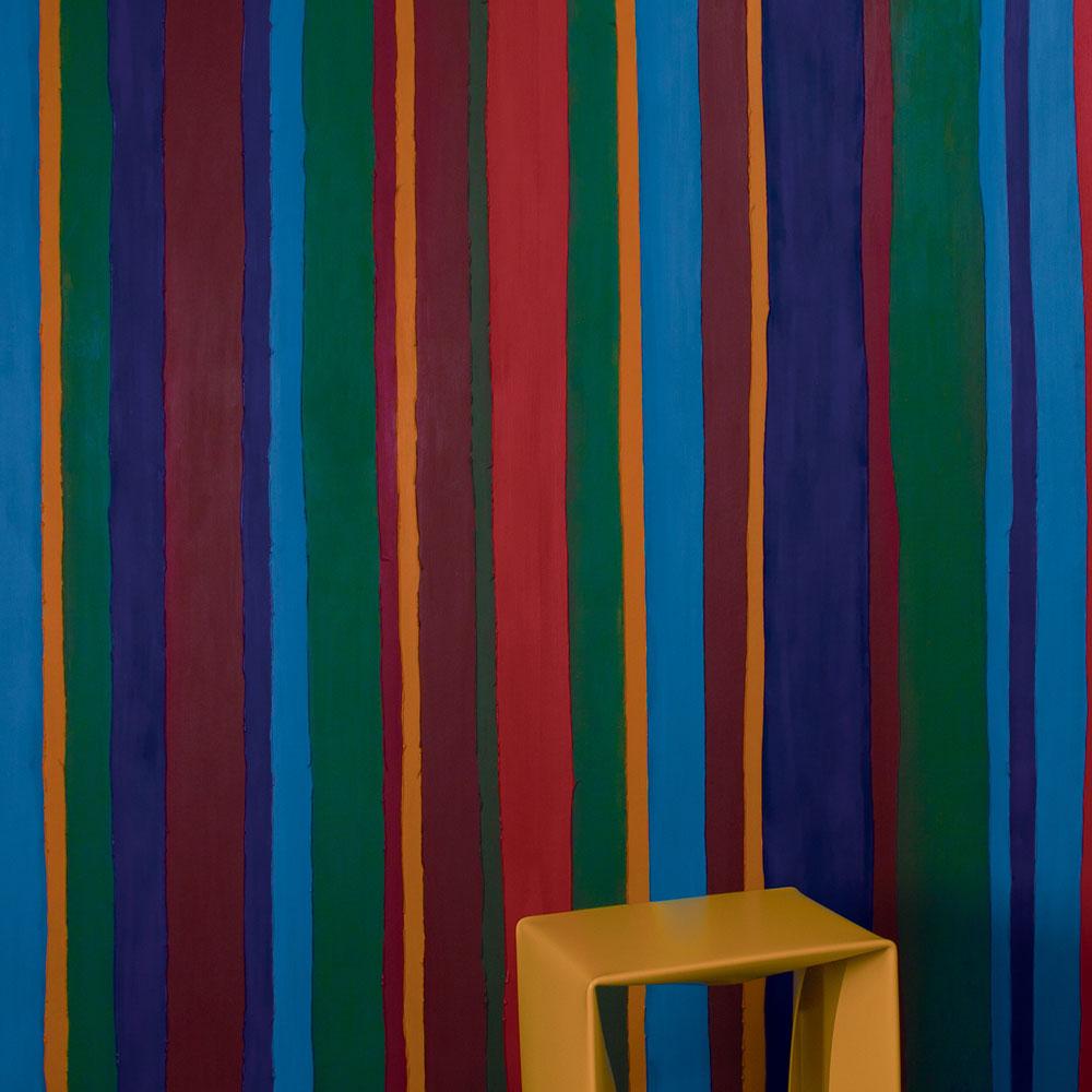 Marburg Horus - Wandbekleidung No. 58719 Structure Stripe - Raumansicht