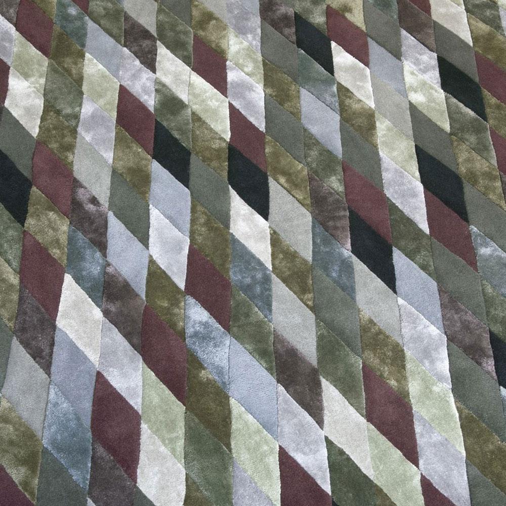 Teppich Mascarade - Farbe Graphite - Detailansicht