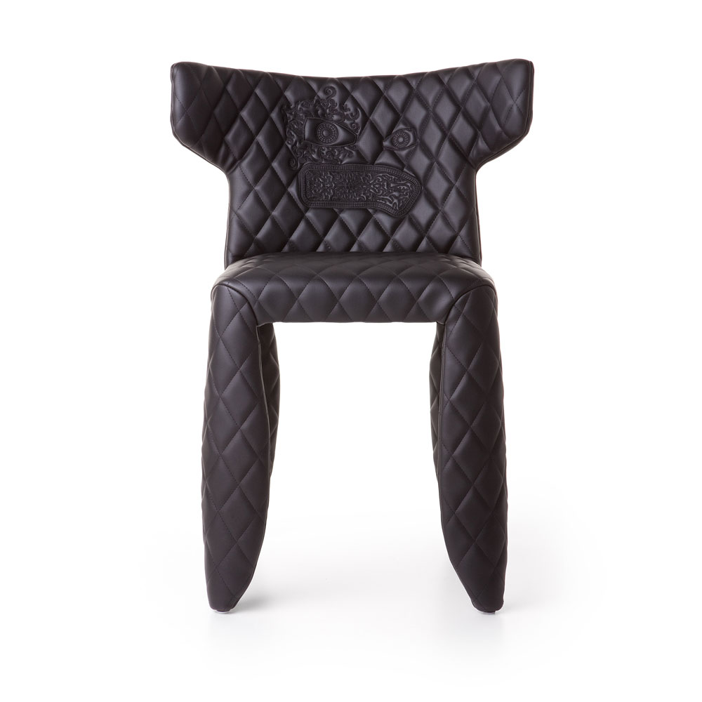 Monster Chair - mit Armlehne & Stickerei