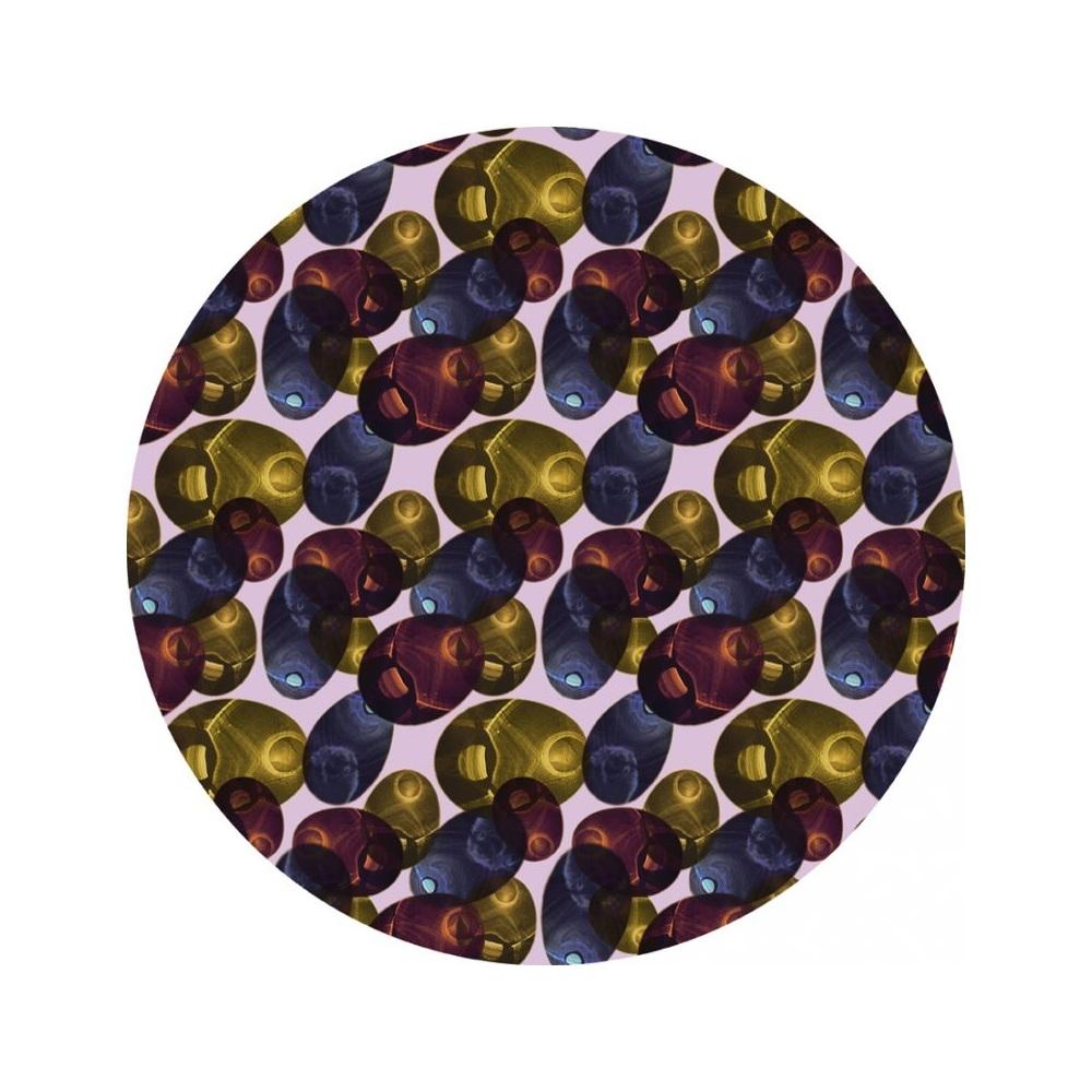 Moooi Carpets - Reflection Round - Farbe Autumn