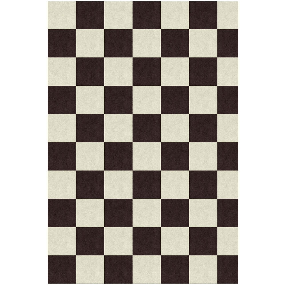 Moooi Carpets - Chequer scharz/ weiß