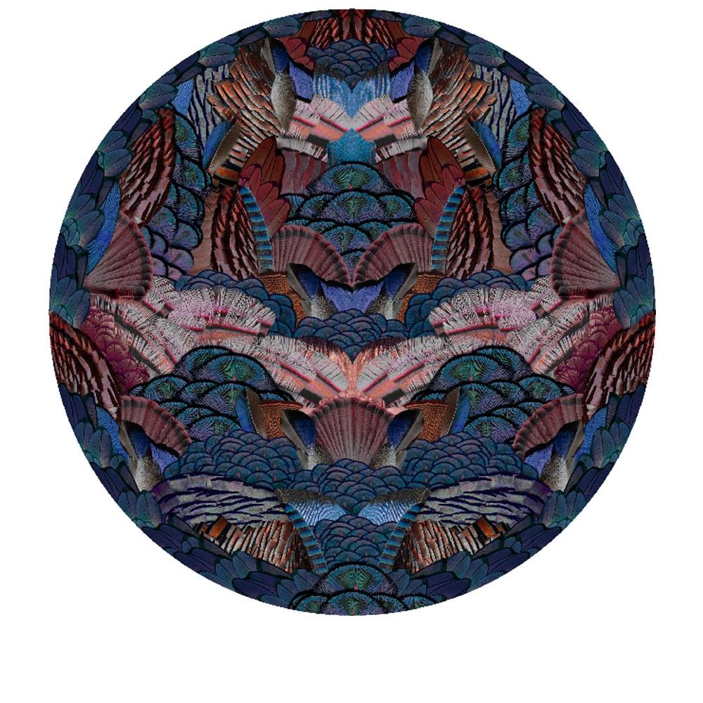 Moooi Carpets Teppich Calligraphy Bird