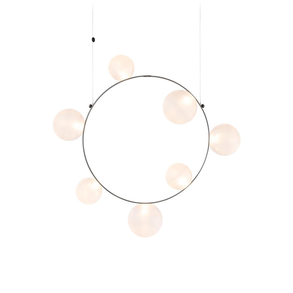 Moooi - Hängeleuchte Hubble Bubble 7 frosted
