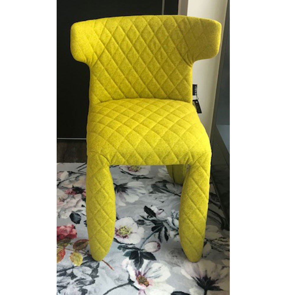 Monster Chair - mit Armlehnen & Divina Melange Farbe 421