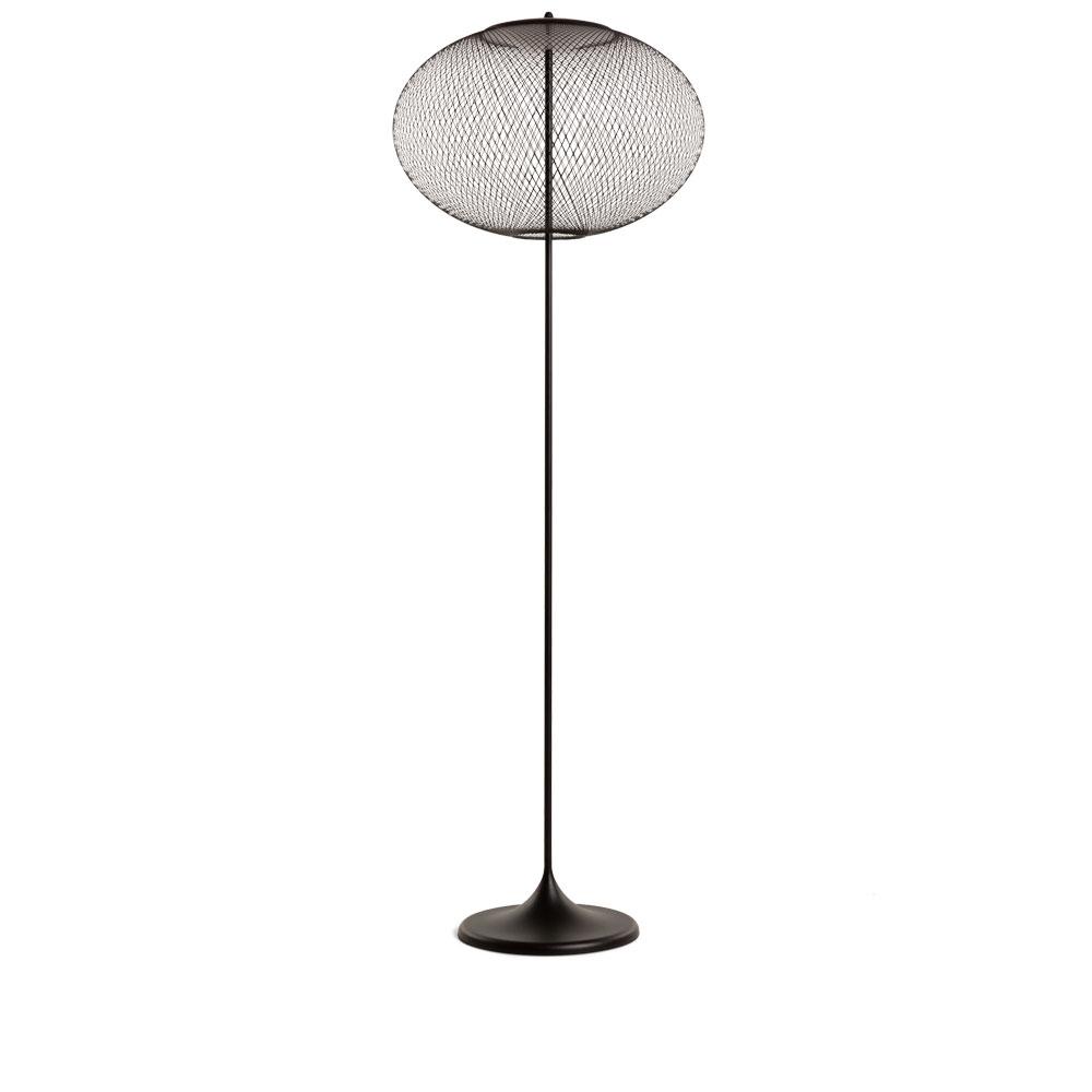 Moooi Stehleuchte NR2 Floor Lamp - schwarz ausgeschaltet