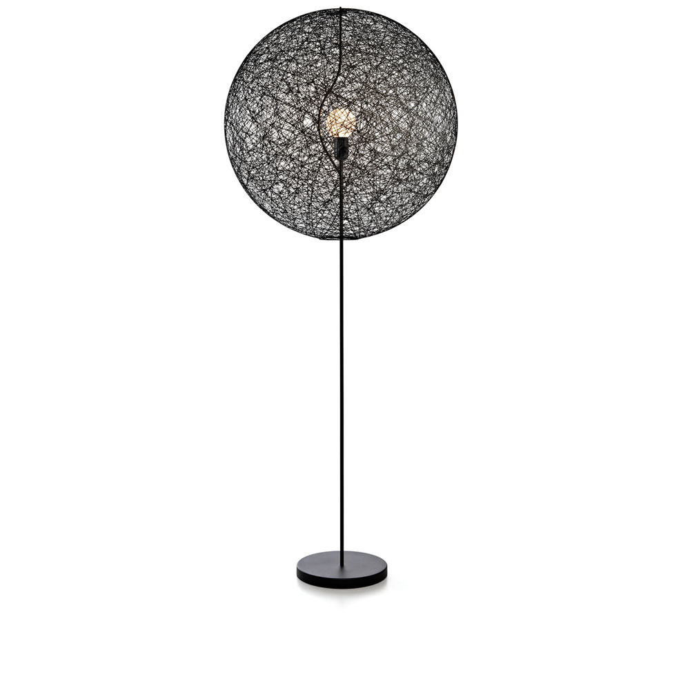 Moooi Stehleuchte Random Floor Lamp II Medium - schwarz