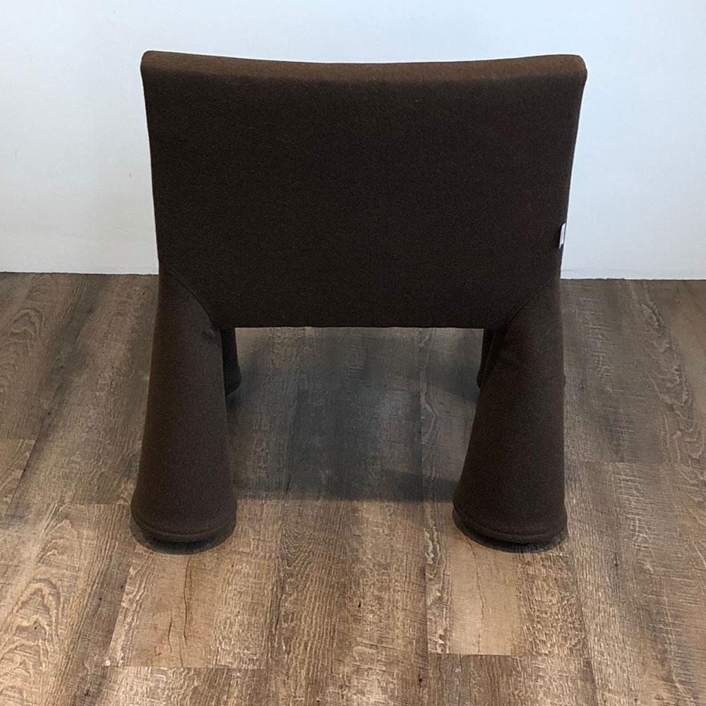 Moooi V.I.P. Chair - Divina Melange 280 - Rückseite