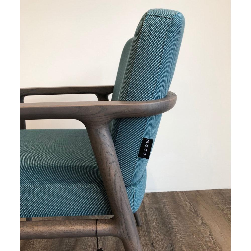 Moooi Zio Dining Chair - Farbe Lagoon - Detailansicht