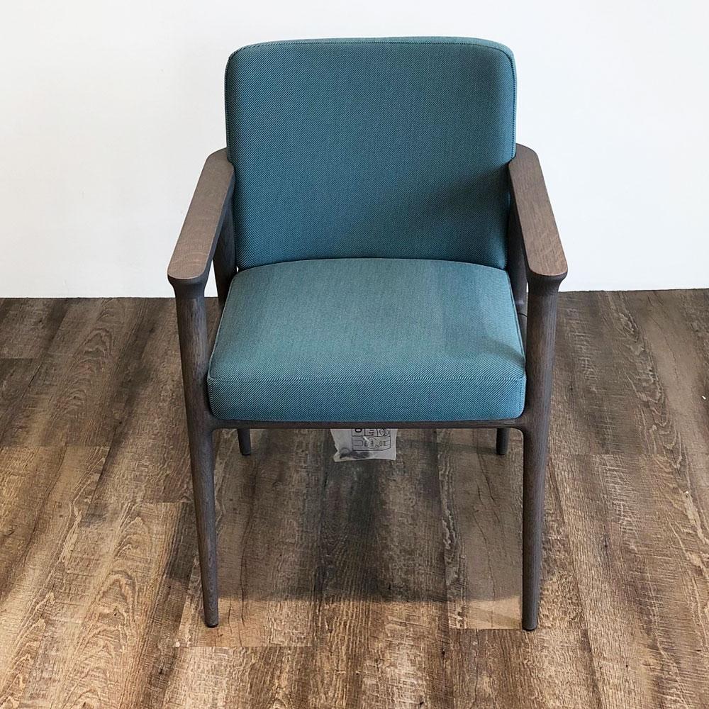 Moooi Zio Dining Chair - Farbe Lagoon