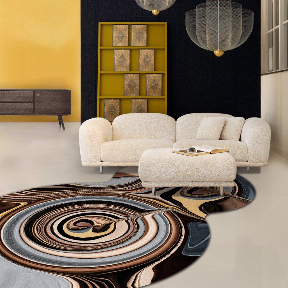Moooi Carpets - Liquid Layers Ara - Organic Sonderform