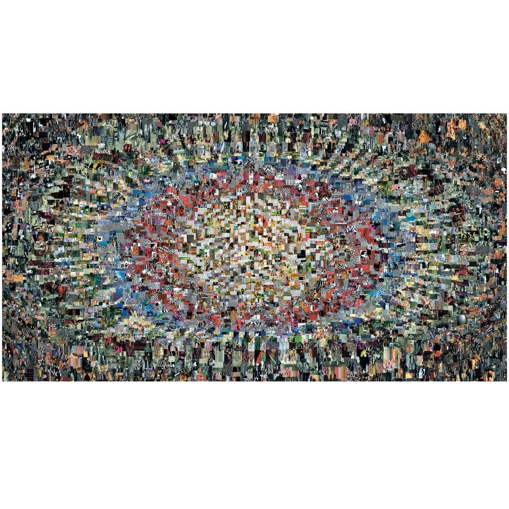Moooi Carpets - Diary 1 - Veloursteppich 212 x 400 cm