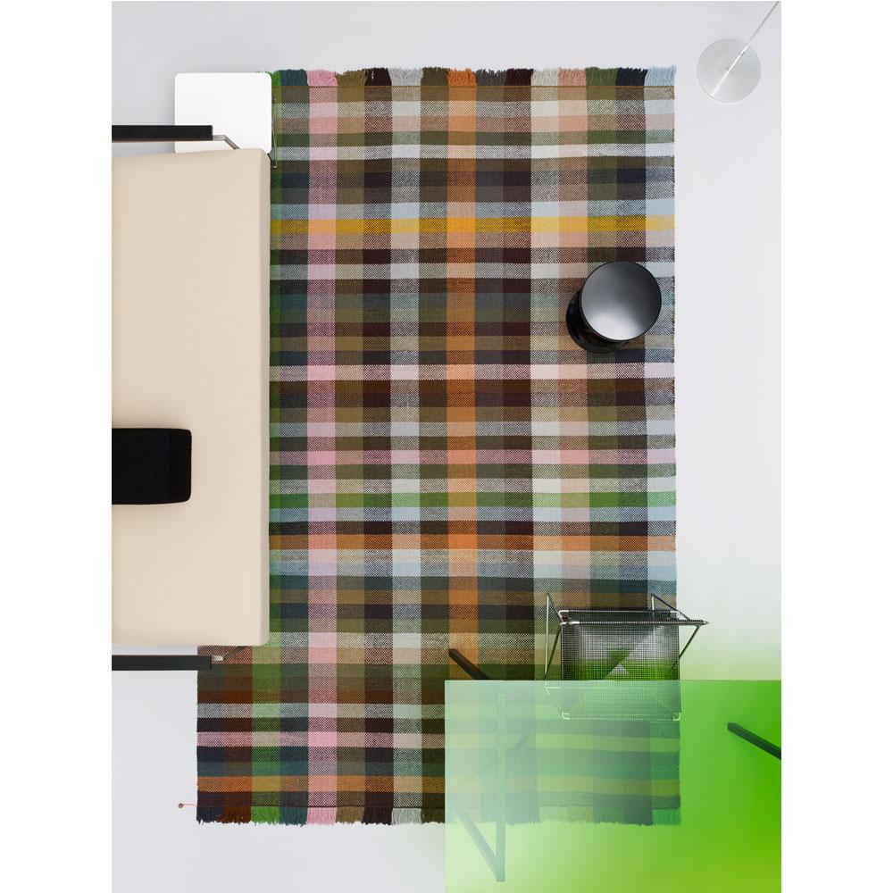 Kvadrat Rugs Multitone - Farbe 375 - Raumbild