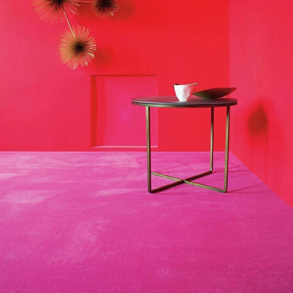 Teppichboden Silky Velvet 600 - Farbe 633 Pink