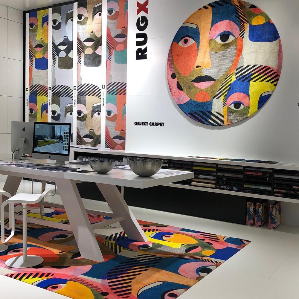 Object Carpet - RUGX - Forum Glossy Velours - SHARI