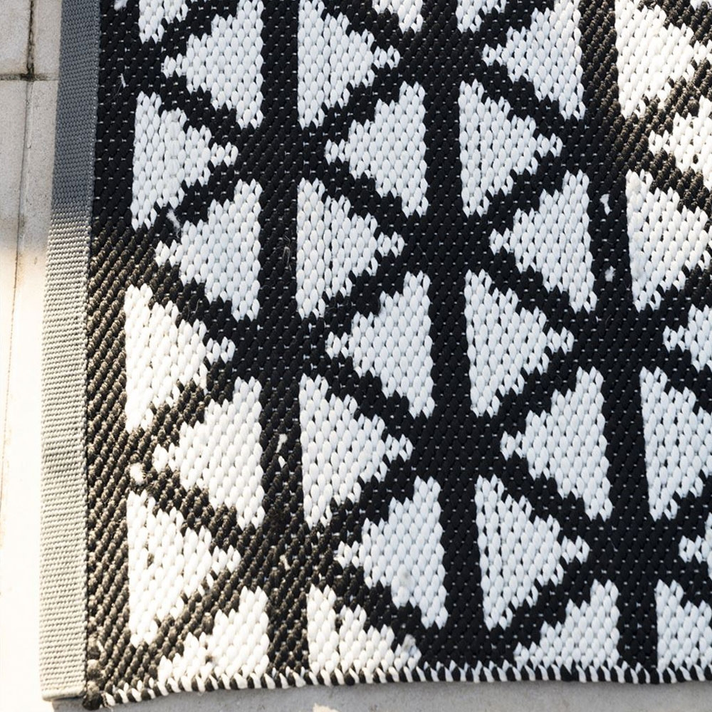 Indoor/ Outdoor Teppich Delray Noir - Detailansicht
