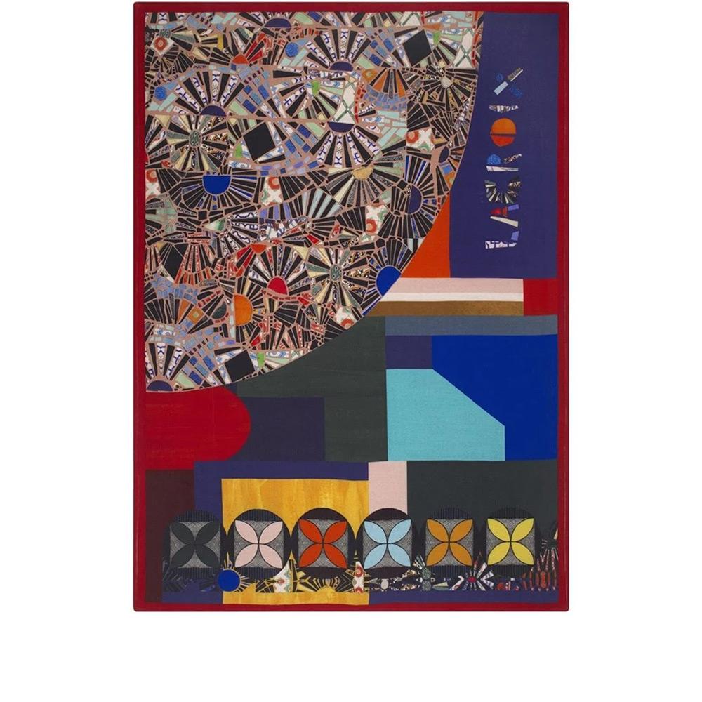 Designers Guild - Tagesdecke Mosaic Freak Multicolore