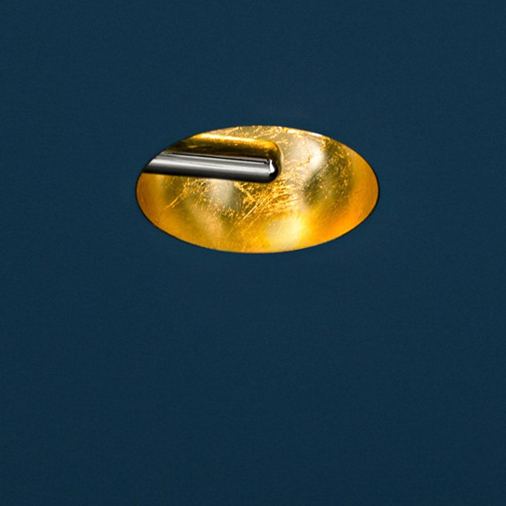 Einbauleuchte Pepita - gold