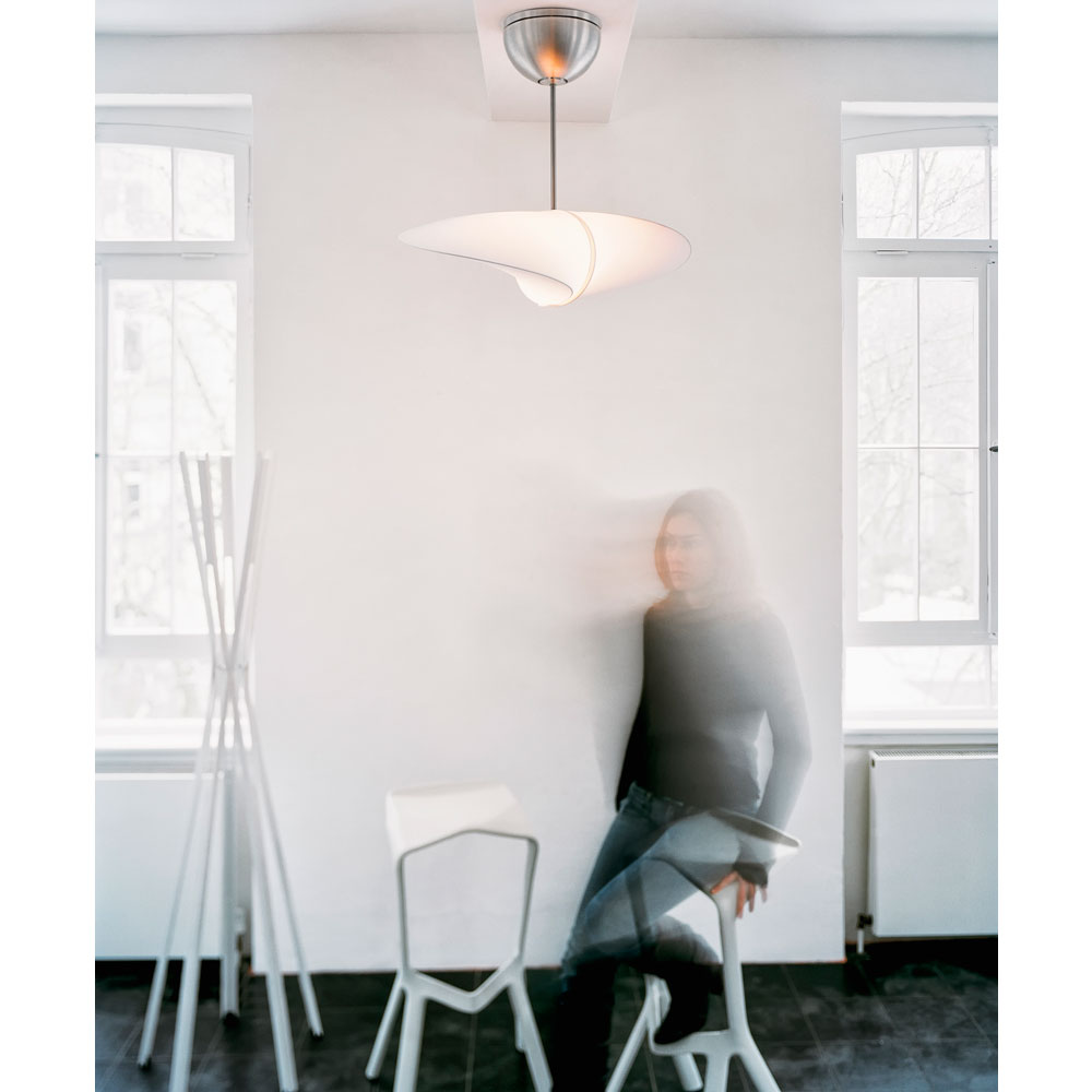 Propeller - als Leuchte für Ausstellungsraum