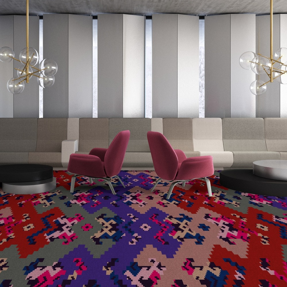 Object Carpet Teppichboden Chayenne Glossy Velours - Farbe 1703