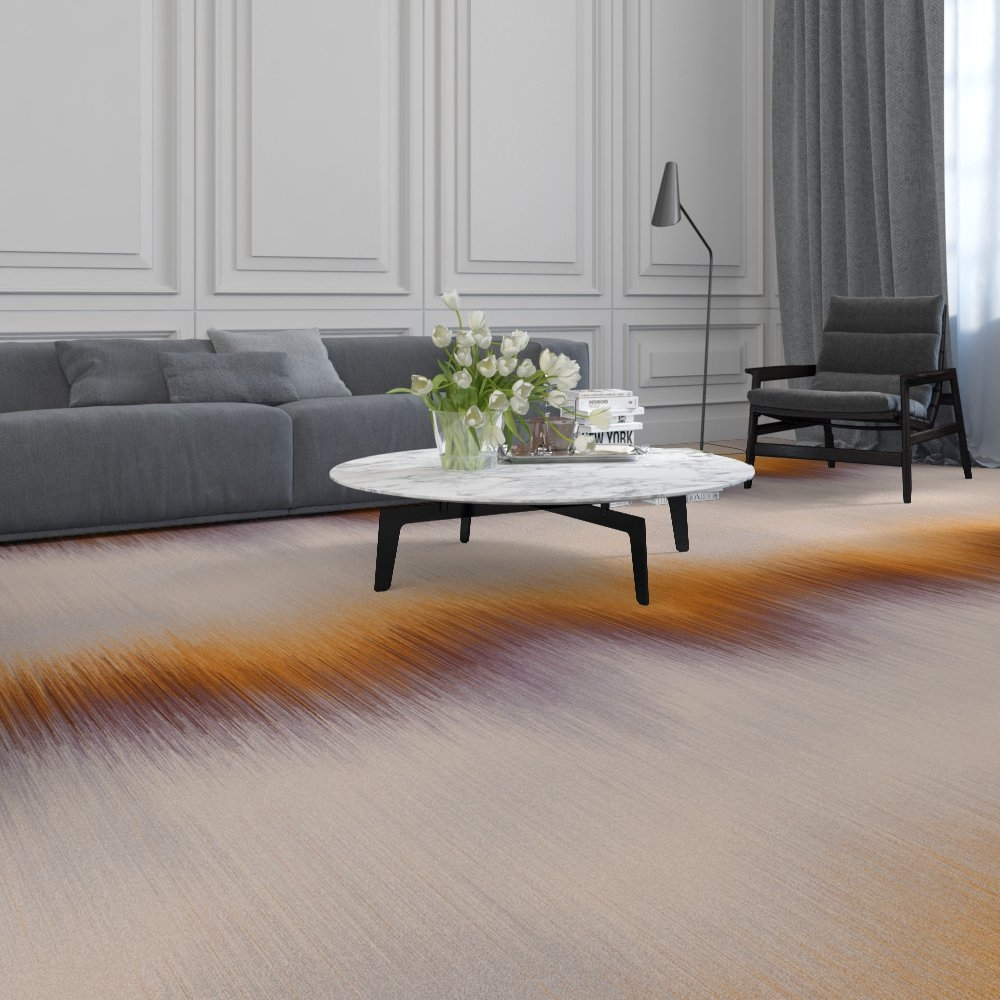 Object Carpet Bahnenware LINUS - ID Glossy Velours - Farbe 1101