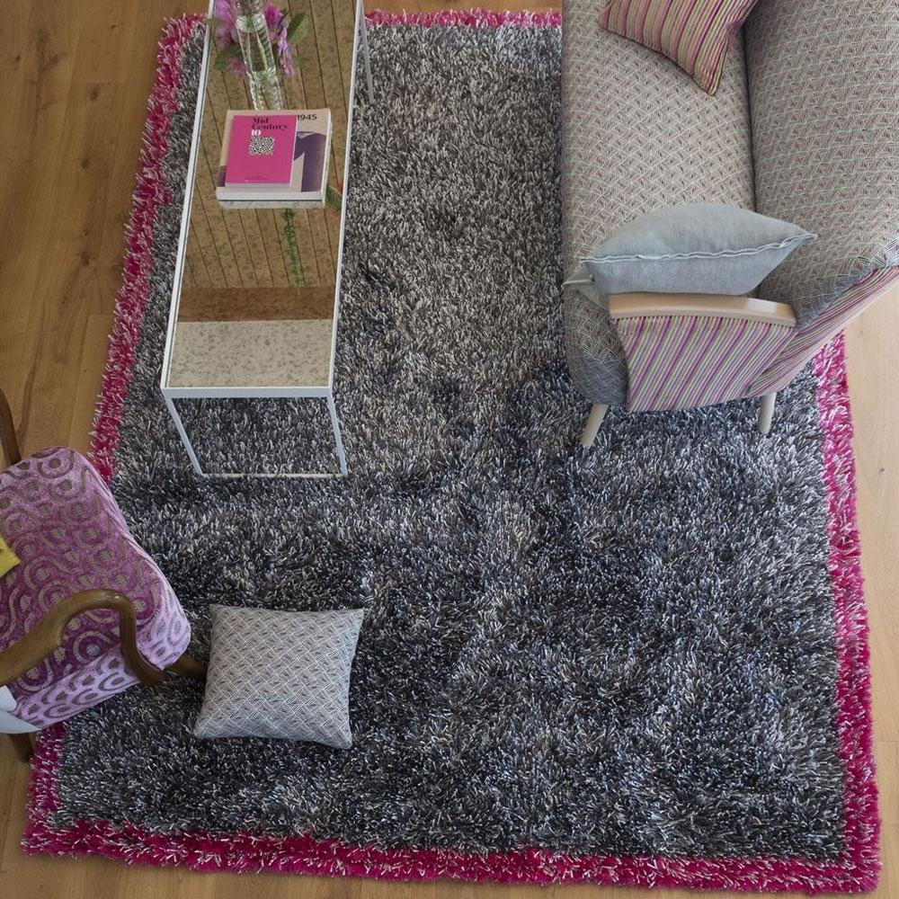 Rossolo Fuchsia - im Wohnzimmer