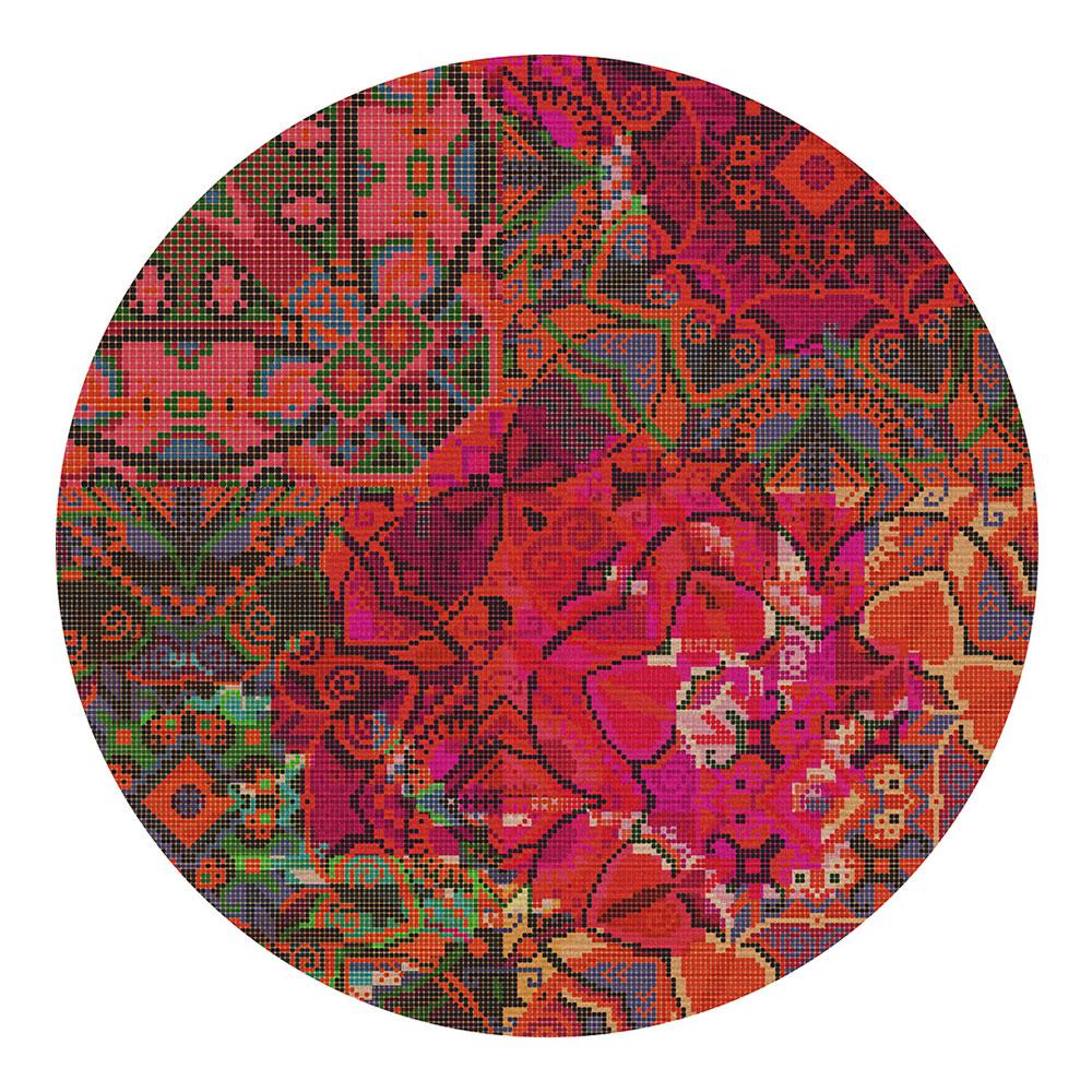 Marrakesh  rund - Farbe 01