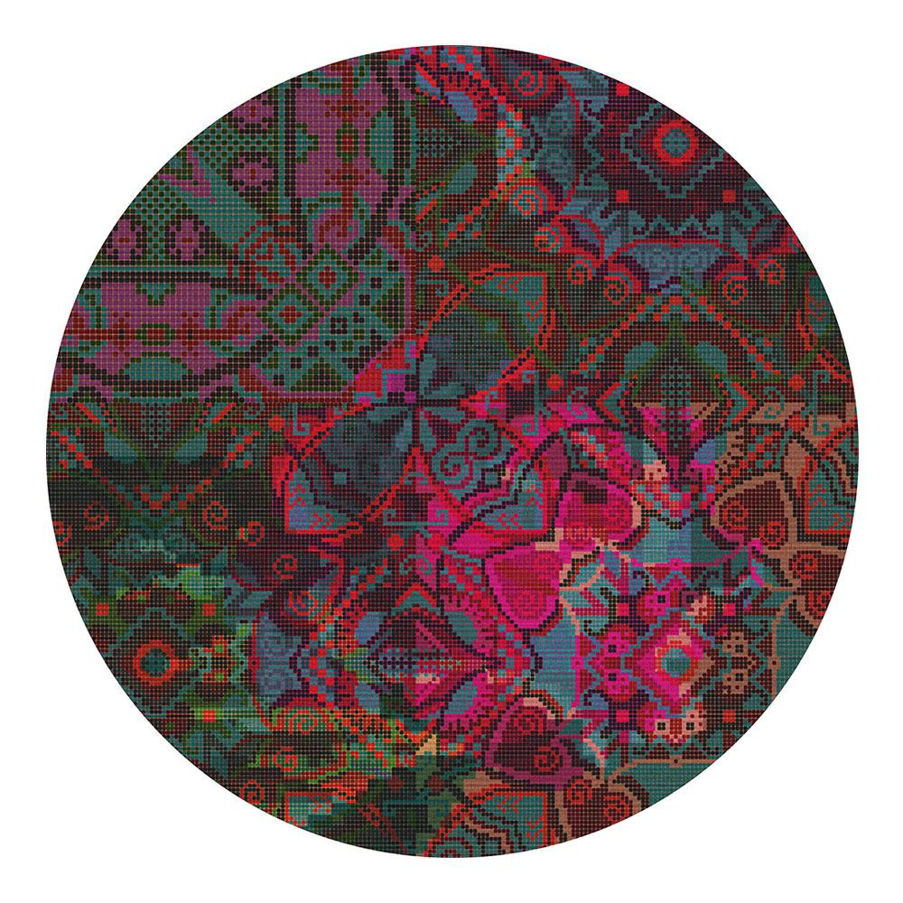 Marrakesh rund - Farbe 02