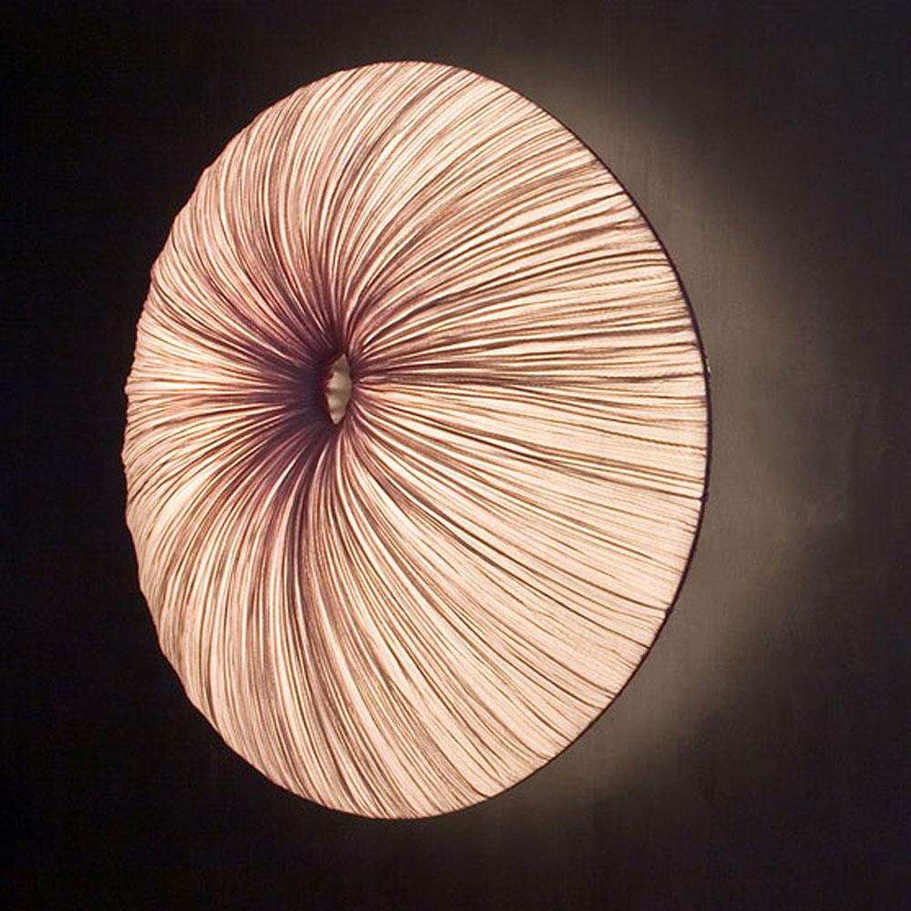 Sahara Wall - Farbe smoke/ rosagrau - Seitenansicht