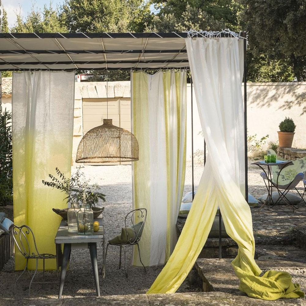 Designers Guild Stoff Saraille- Acacia & Lemongrass