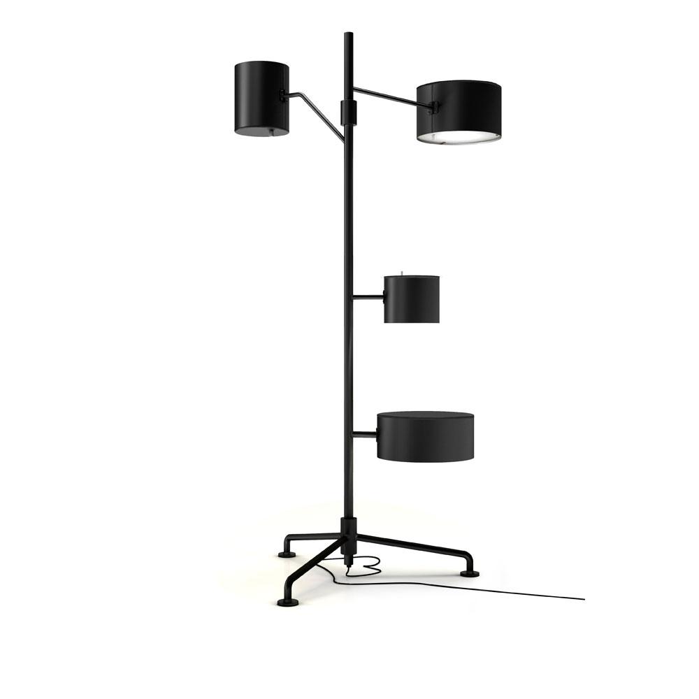 Statistocrat Floor Lamp - schwarz