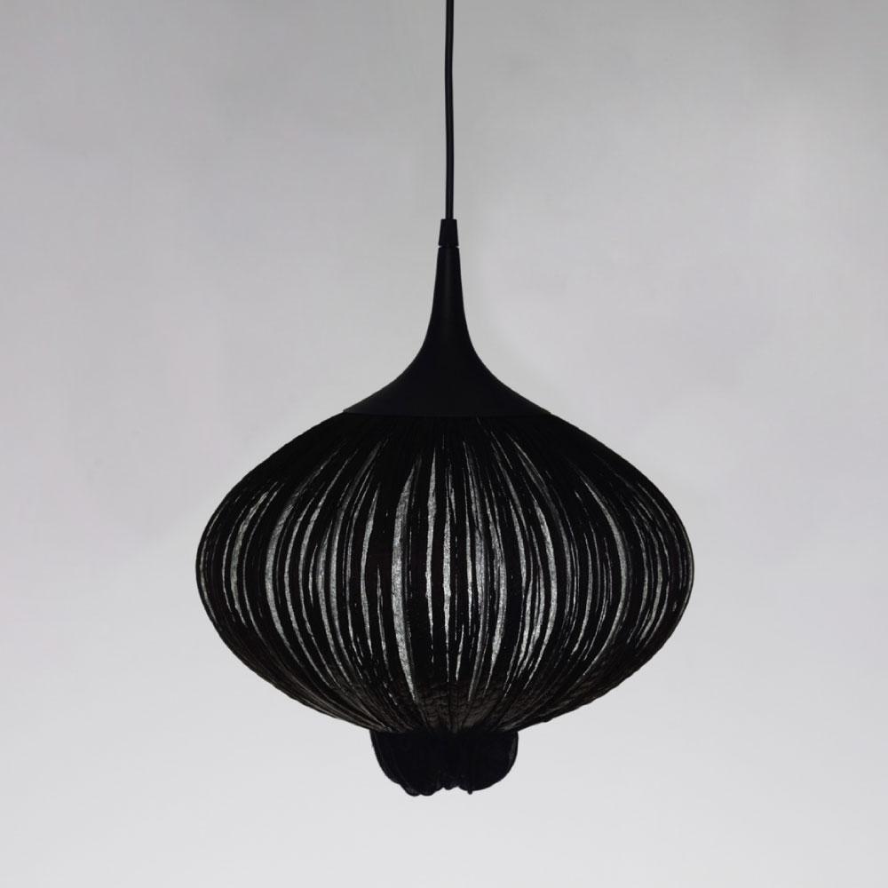 Suuria Son Pendant - Farbe coal/ schwarz
