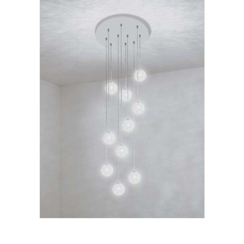 Sweet Light Chandelier - 10 Leuchten