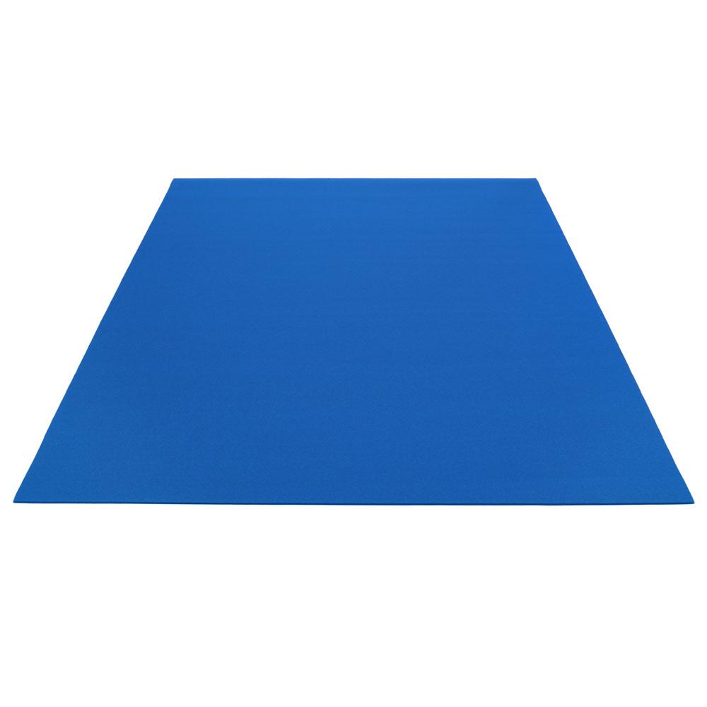 Teppich Rechteckig - 10 Blau