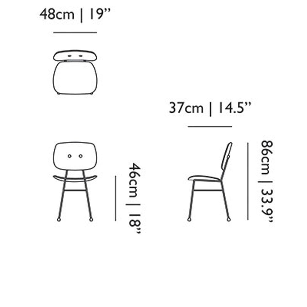 The Golden Chair - Maße