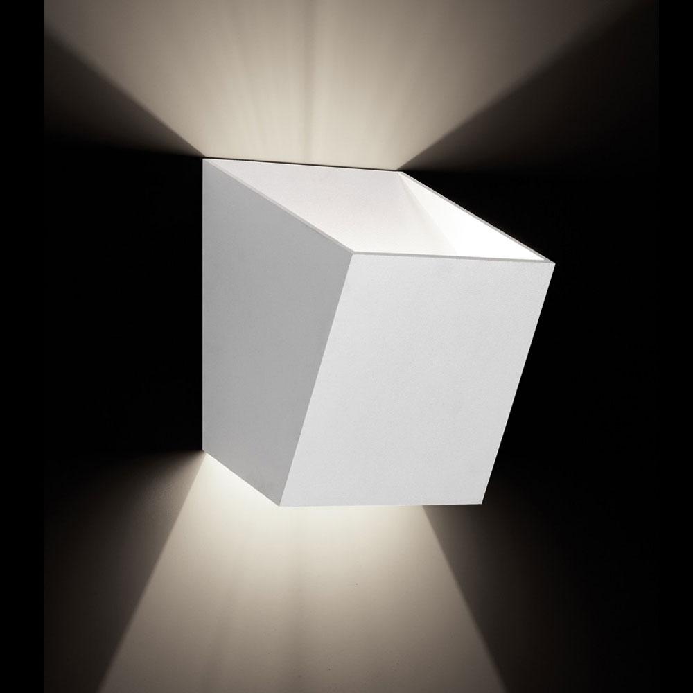 TossB Leuchte 25° wall big LED - weiß