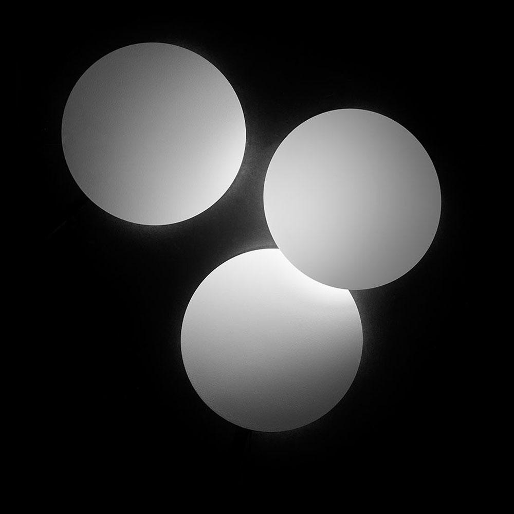 Tilt Round - weiß