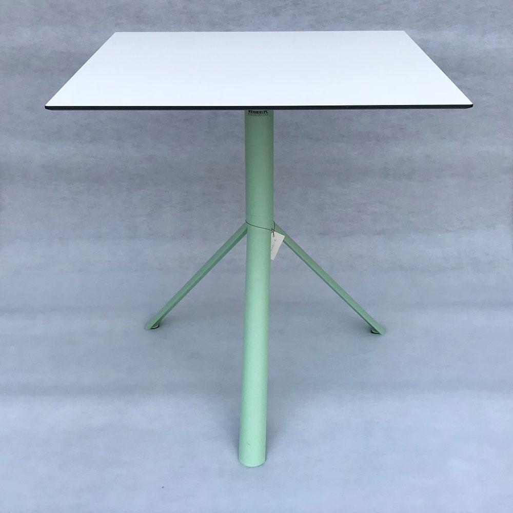 Bistrotisch Trio 70x70cm - klappbar - pastellgrün