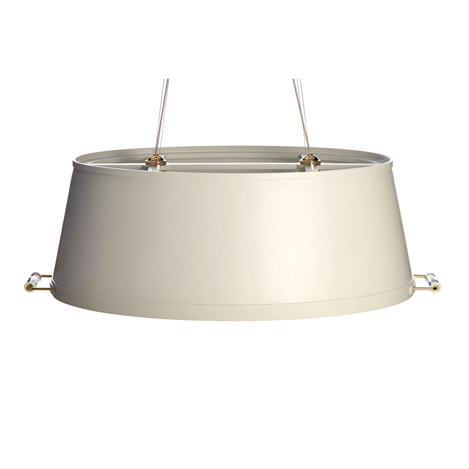 Tub Lamp- grauer Schirm