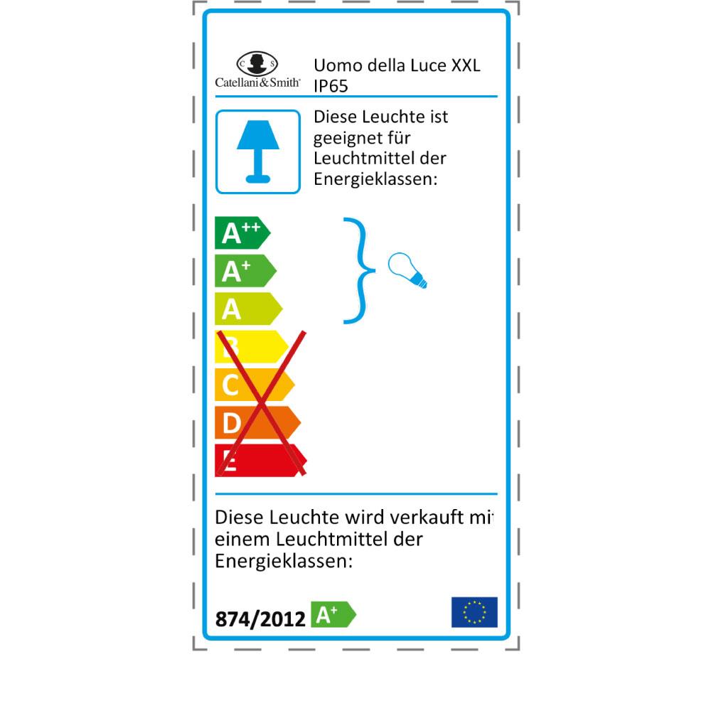 Uomo Della Luce XXL IP65 - EU Label