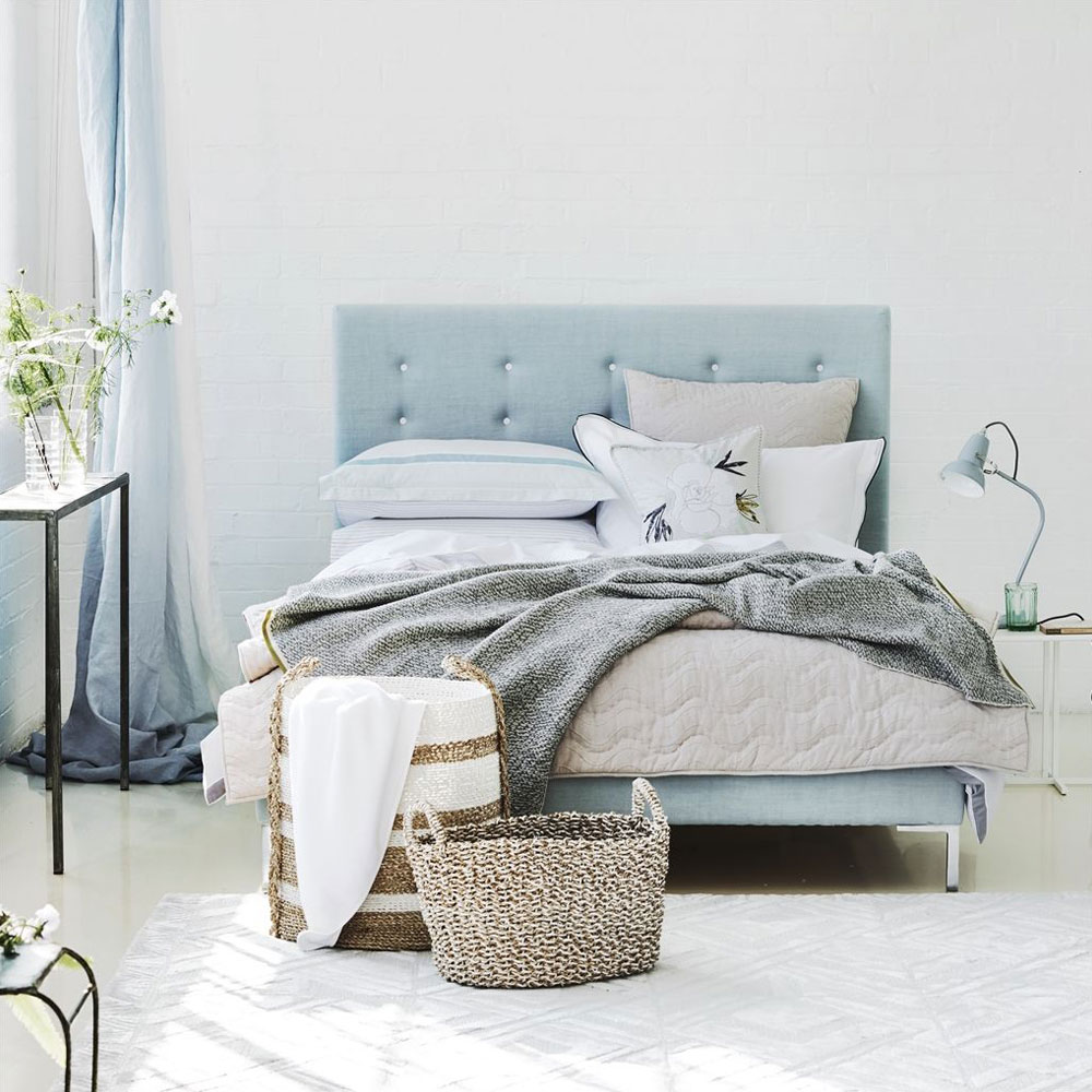 Valbonella Silver - im Schlafzimmer