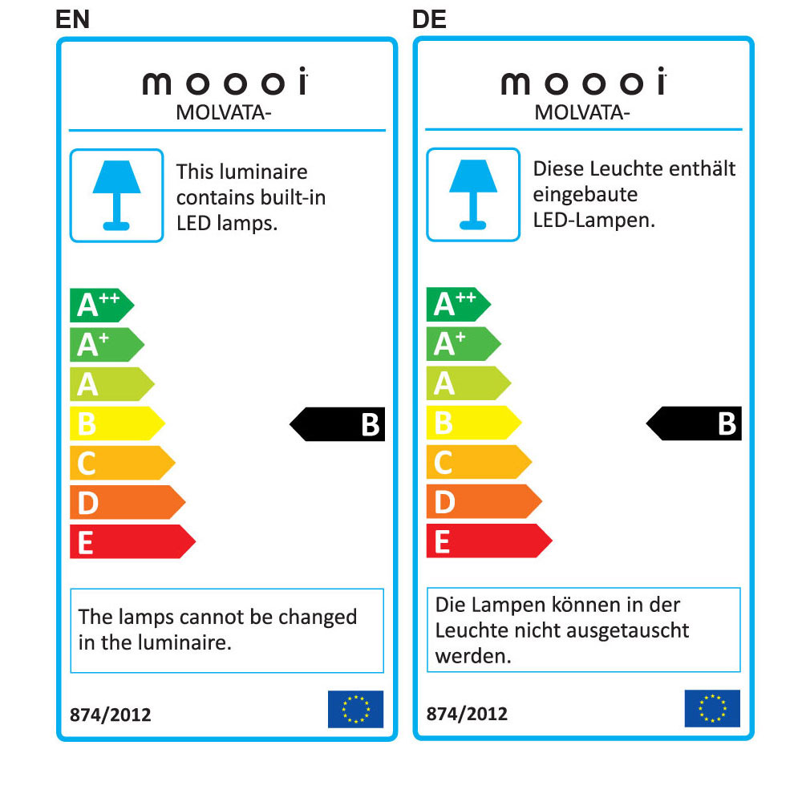 Valentine Table Lamp - EU Label