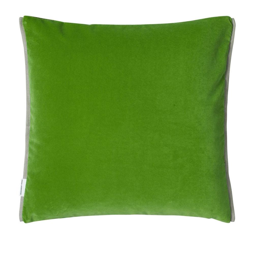 Designers Guild Kissen Varese Emerald - Rückseite