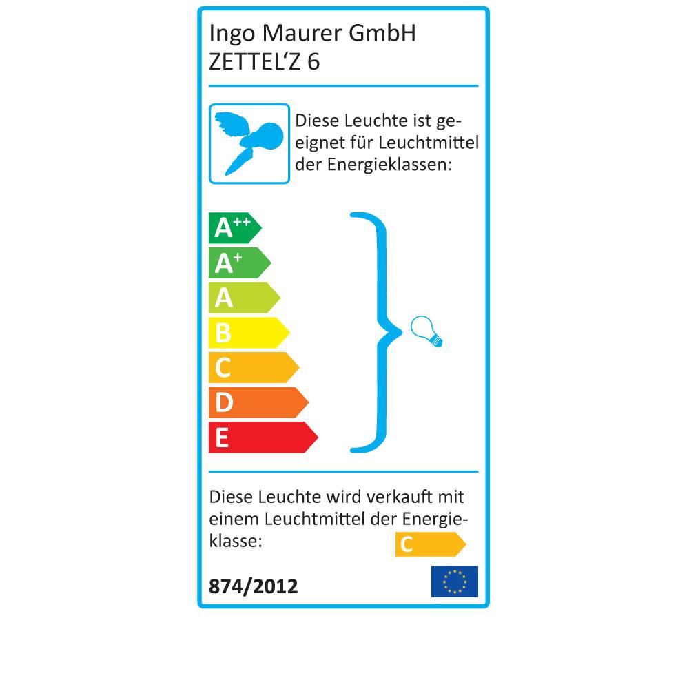 Zettel´z 6 - EU Label