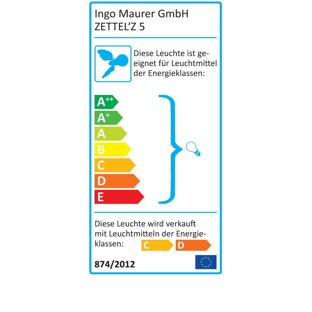 Zettel´Z 5 - EU Label
