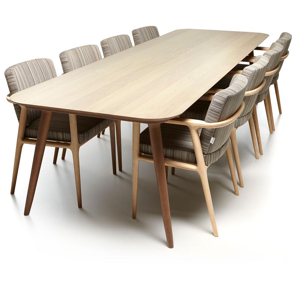 Zio Dining Table - Eiche zweifarbig gebeizt